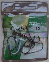 Крючки Cobra baitholder №12