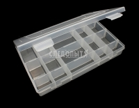 Коробка СЛЕДОПЫТ LUNO-20 для рыболовных приманок (277*185*42,5 мм)