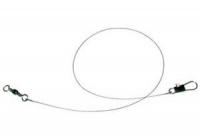 Поводок оснащенный (флюорокарбон) 25см. (9кг.)