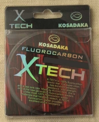 Леска флюорокарбон KOSADAKA X-TECH 0.23мм