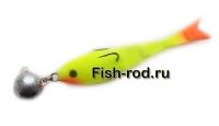 Поролоновая рыбка 8см. 22гр. цвет 03