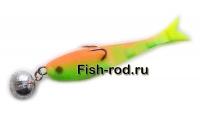 Поролоновая рыбка 8см. 22гр. цвет 08
