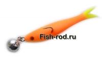 Поролоновая рыбка 8см. 22гр. цвет 10