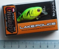 Воблер Jackall Chubby 38F Yellow Black