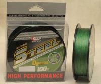 Плетеная леска Steel TEX Dyneema 0.23mm.