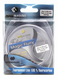 Леска флюорокарбон Shii Saido Magic Flurry, L-30 м, d-0,118 мм, test-0,99 кг, прозрачная