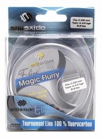 Леска флюорокарбон Shii Saido Magic Flurry, L-30 м, d-0,135 мм, test-1,29 кг, прозрачная