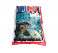 Прикормка UNIBAIT Гранулы 10 мм, клубника, 0,9 кг