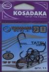 Крючки KOSADAKA TATSU 3093 BN Size 4. 0,79mm.