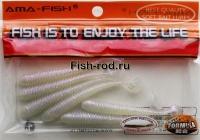 Силиконовая приманка Ama- fish W058 7.5 см. 042