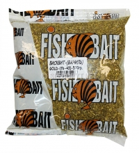 Добавка FishBait Бисквит 0,5 кг. Ваниль