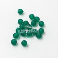 Бусина фидерная Namazu, PVC, d-5, зеленая (уп.20 шт.)