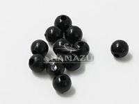 Бусина фидерная Namazu, пластик, d-5, черная (уп.20 шт.)