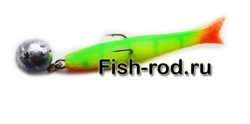 Поролоновая рыбка 7см. 22гр. цвет 05