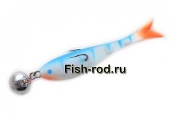 Поролоновая рыбка 8см. 22гр. цвет 01