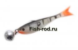 Поролоновая рыбка 8см. 22гр. цвет 02
