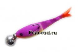 Поролоновая рыбка 8см. 22гр. цвет 11