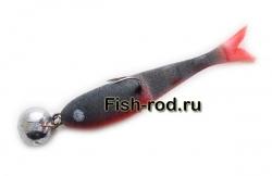 Поролоновая рыбка 8см. 22гр. цвет 12