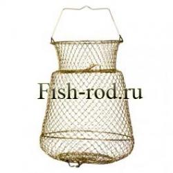Садок для рыбы металлический большой