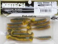 Съедобная резина KEITECH Easy Shiner 2 EA#07 Watermelon PP/Yellow P