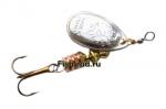 Блесна Mepps AGLIA №2 (4,5 гр.) Серебро