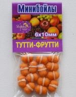 Минибойлы 6 х10мм ТУТТИ-ФРУТТИ