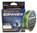 Плетеная леска OKUMA Dyneema SONNEX 0,16mm.