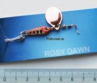 Блесна вращающаяся Rosy Dawn RD007 22mm 6гр. 1#