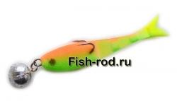 Поролоновая рыбка 7см. 15гр. цвет 08