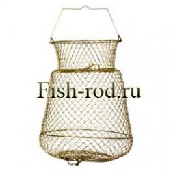 Садок для рыбы металлический средний